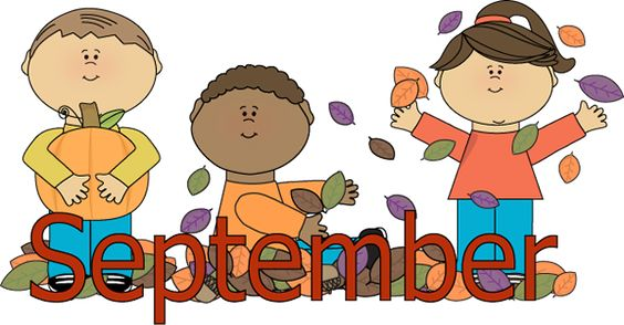 Welcome September Cartoon Character Images