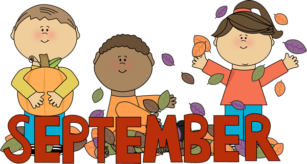 Welcome September Clip Art