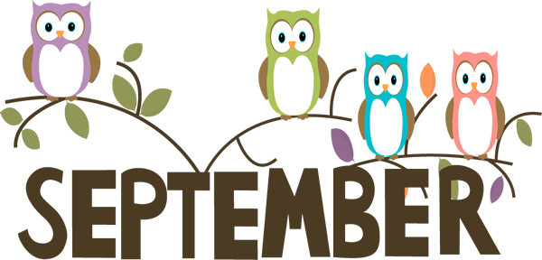 Welcome September Clipart