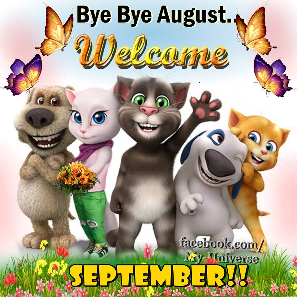 Welcome September Funny Pictures