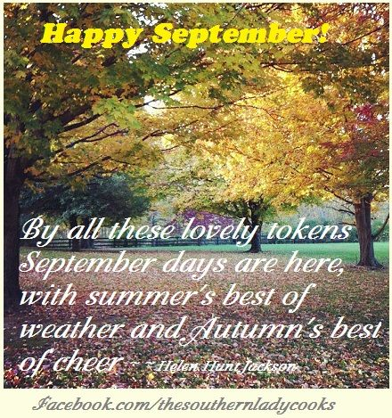 Welcome September, Happy September Pictures