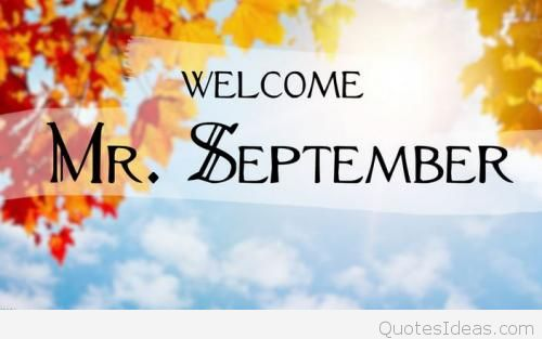 Welcome September Images Autumn