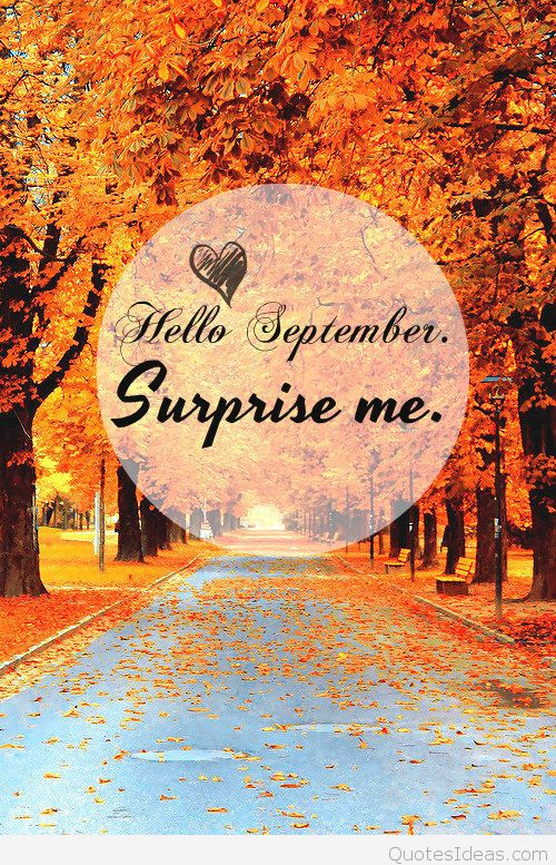 Welcome September Images Surprise Me