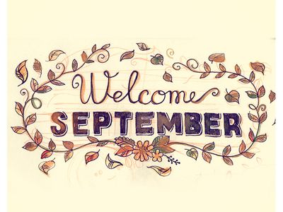 Welcome September Pics Craft Free Download