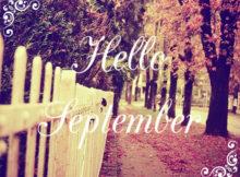 Welcome September Wallpaper Free