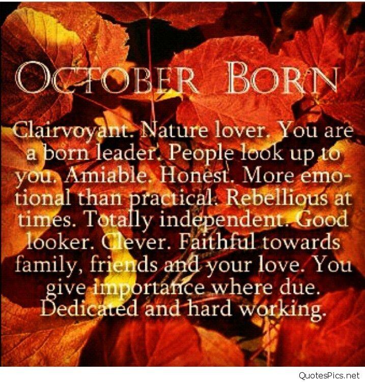Born in October Photos