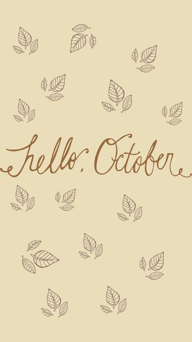 Cute October Wallpapers of iPhone