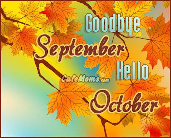 Goodbye September Hello October Photos Tumblr