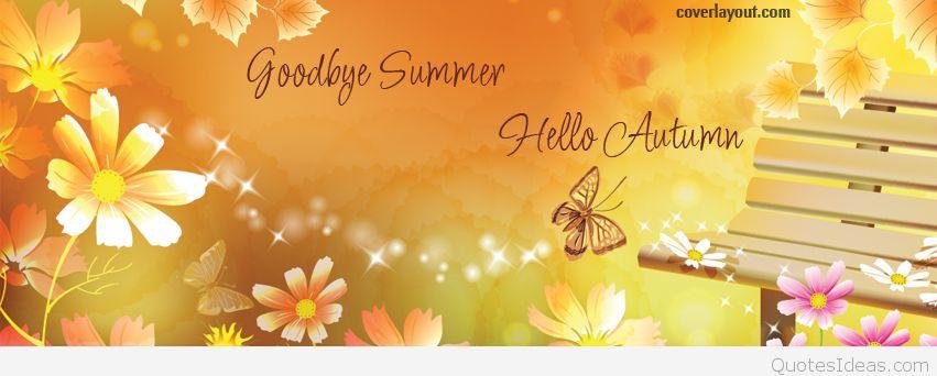 Goodbye September Hello October Pics Facebook Cover