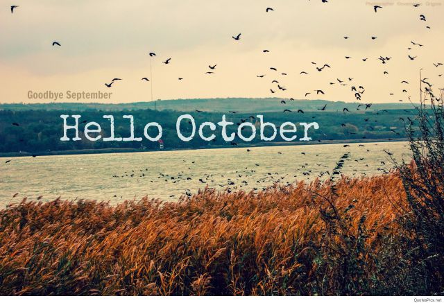 Goodbye September Hello October Pictures Freee