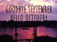 Goodbye September Hello October Pictures Tumblr