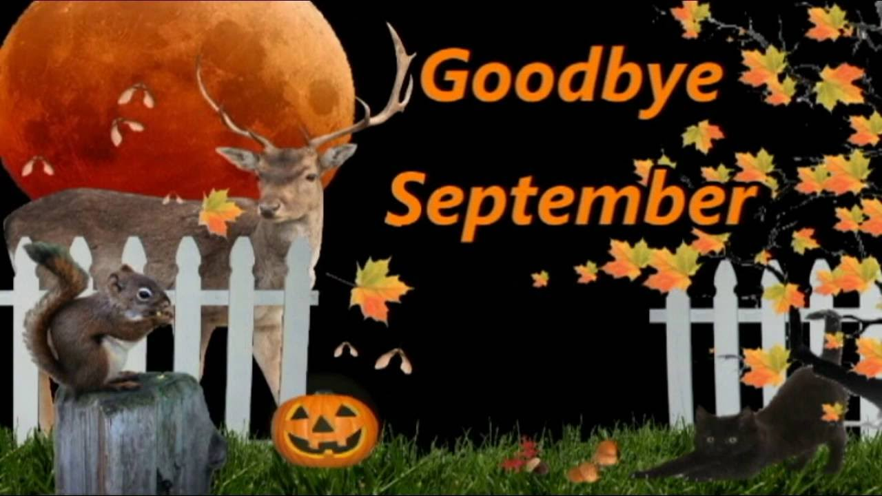 Goodbye September Hello October Wallpaper Free