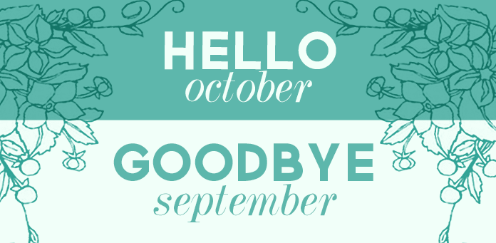 Goodbye September Hello October Wallpaper HD