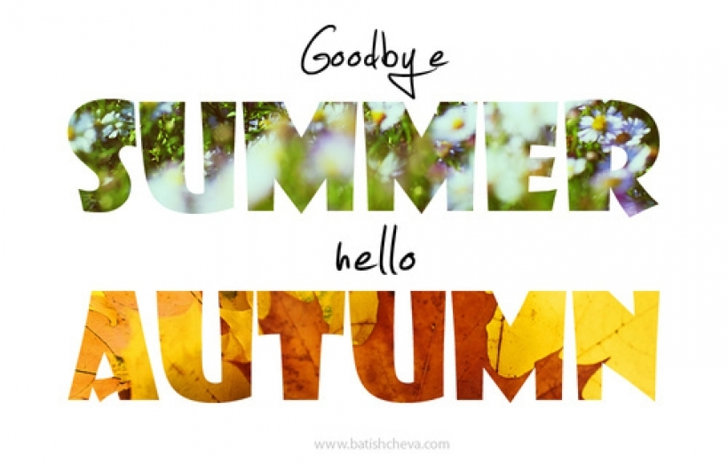 Goodbye Summer Hello Autumn Photos