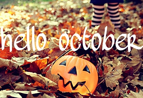 Hello October Halloween Pictures