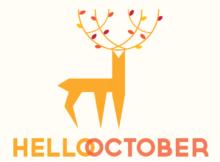 Hello October Photos Printable