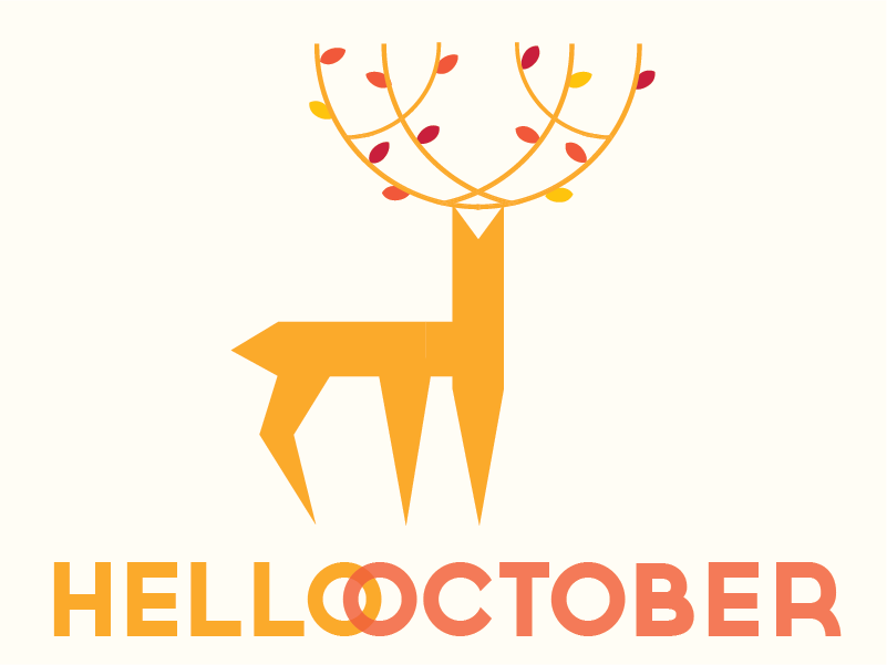 Hello October Photos Printable