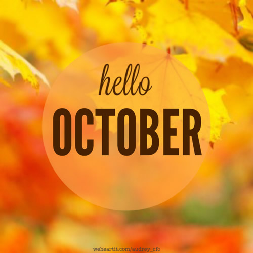 Hello October Pictures