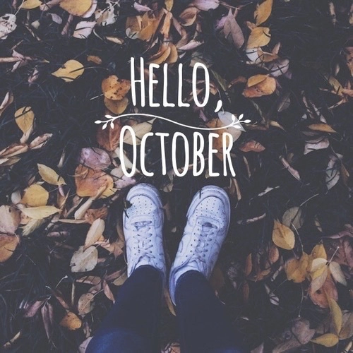 Hello October Tumblr Images