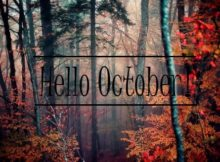 Hello October Tumblr Wallpaper