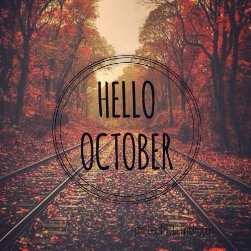 Hello October Tumblr