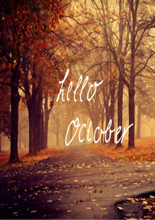 Hello October Wallpapers fo iPhone