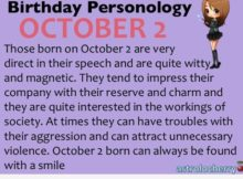 October Birthday Sayings