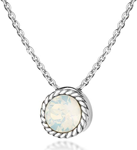 October Birthstone Necklace