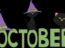 October Funny Clipart