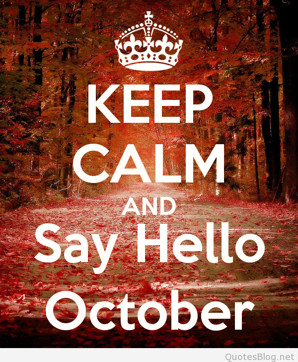 October Sayings for WhatsApp