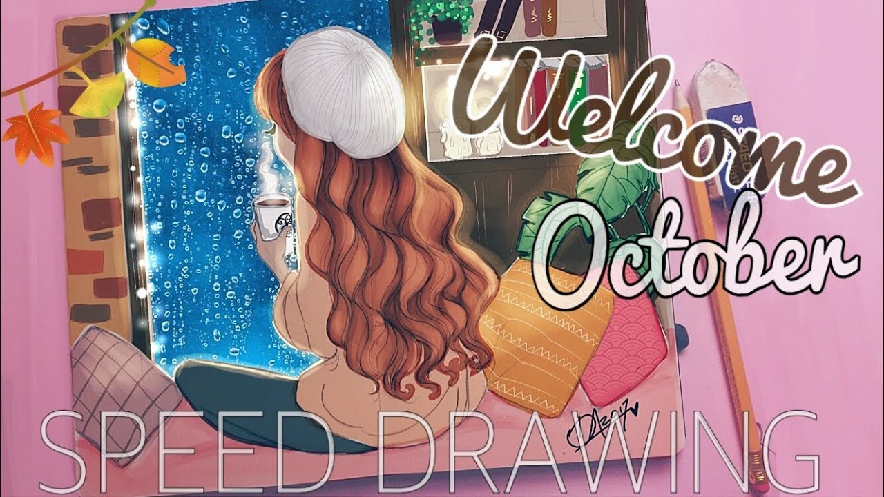 Welcome October Pictures HD Drawing