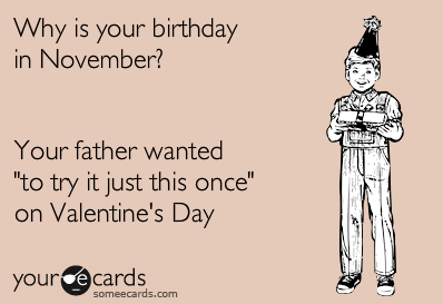 Born in November Quotes Cards