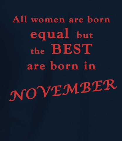Born in November Quotes