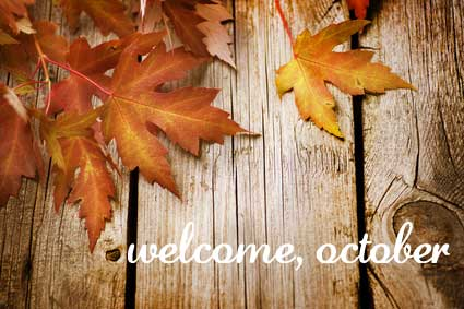 Free Welcome October Pics