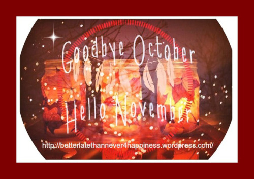 Goodbye October Hello November Halloween Pics Images