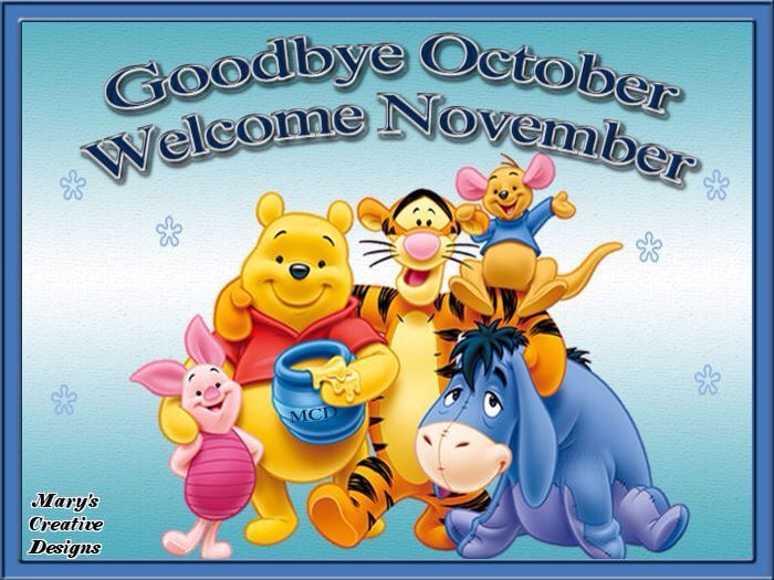 Goodbye October Hello November Images, Quotes For Facebook