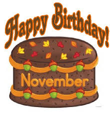 Happy Birthday November Images