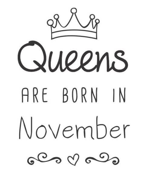 Happy Birthday November Quotes Wishes Images