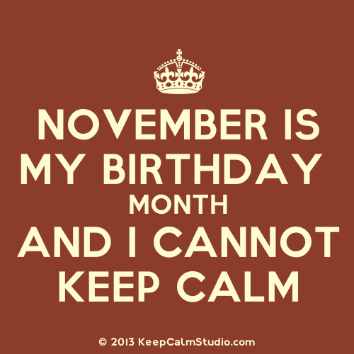 Happy Birthday November Quotes