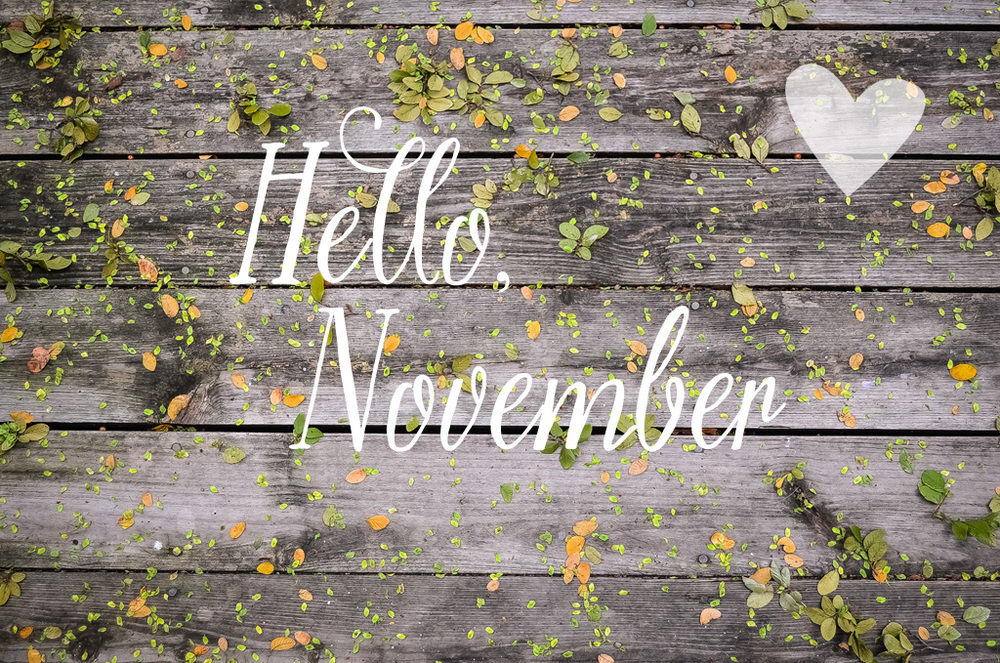 Hello November Cover Photos