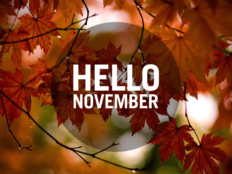 Hello November Month Pictures