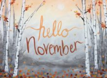 Hello November Photos on Pinterest