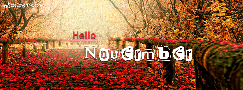 Hello November Sayings Wishes Messages