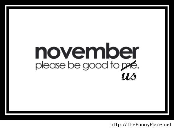 Hello November Sayings and Quotes