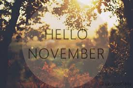 Hello November Tumblr Quotes Images