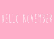 Hello November Tumblr Wallpapers