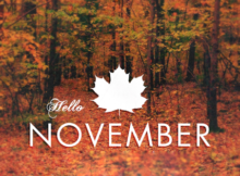 Hello November Wallpapers for Facebook