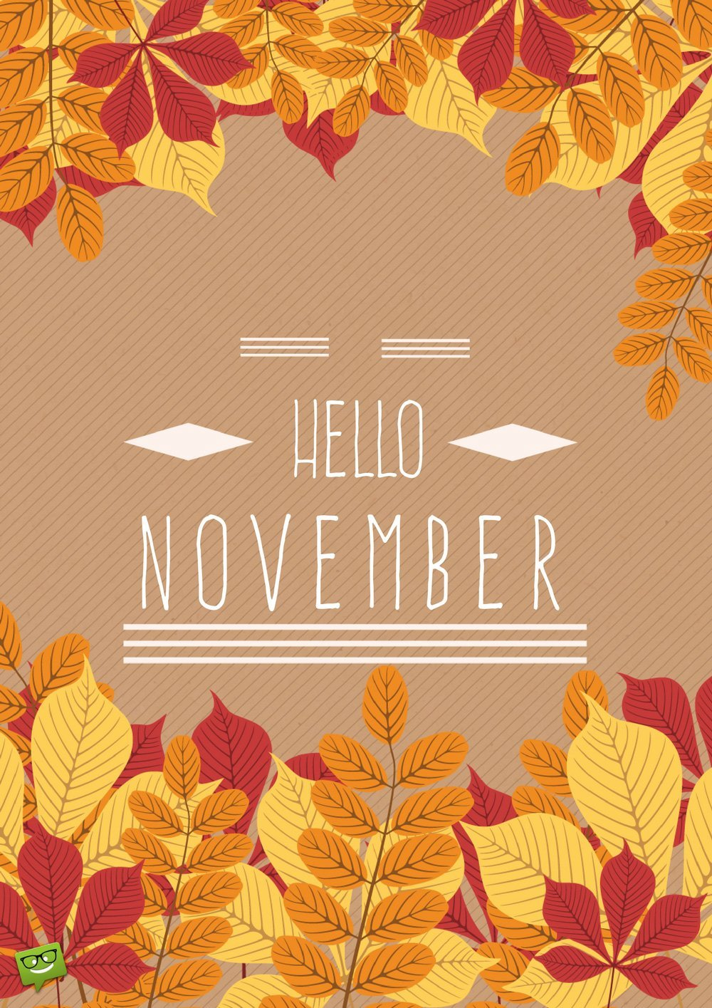 Hello November Wallpapers for iPhone