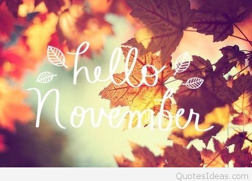 Hello November Wallpapers