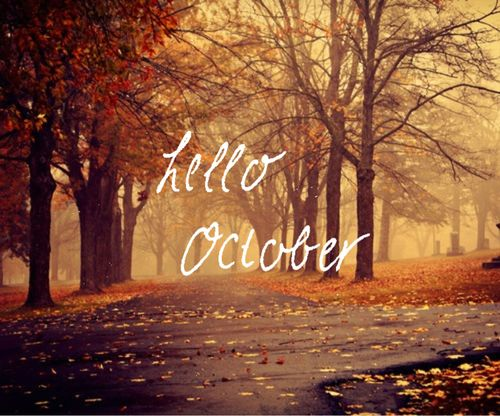 Hello October Month Tumblr Quotes